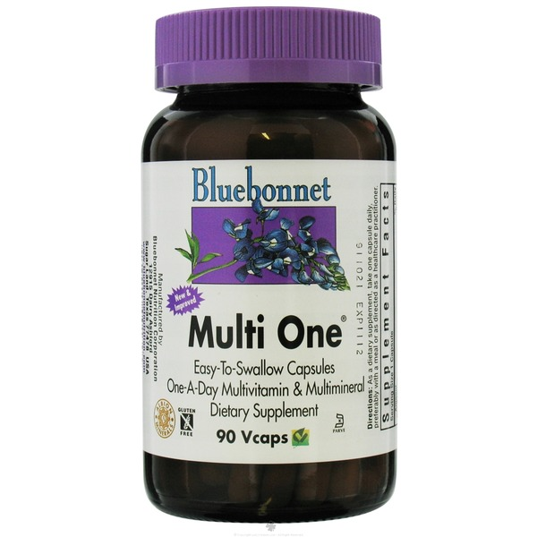 Bluebonnet Nutrition MultiOne Vitamin Capsules