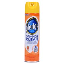 Pledge Orange Clean Furniture Spray 9.7 Ounces