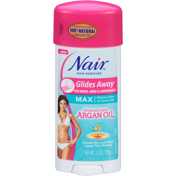 Nair Glides Away for Bikini, Arms & Underarms Hair Remover