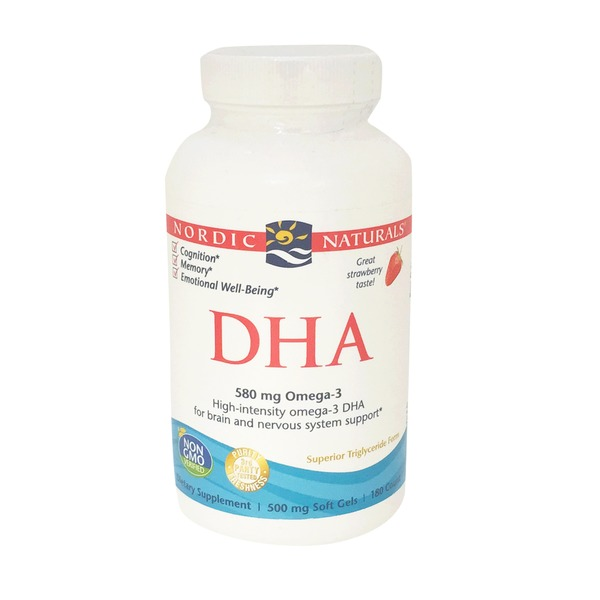 Nordic Naturals Strawberry Dha From Purified Fish Oil