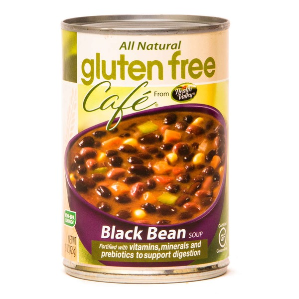 Health Valley Gluten Free Cafe Black Bean Soup