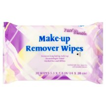 Pure'n Gentle Make-up Remover Wipes, 30 sheets