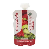 Keep Moving Organic Probiotic Snack Strawberry Kiwi Kale