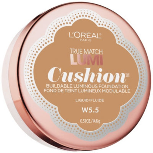 True Match Lumi Cushion W5.5 Suntan Foundation