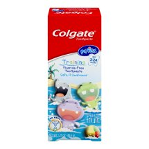 Colgate My First Baby and Toddler Toothpaste, Fluoride Free, Mild Fruit - 1.75 oz