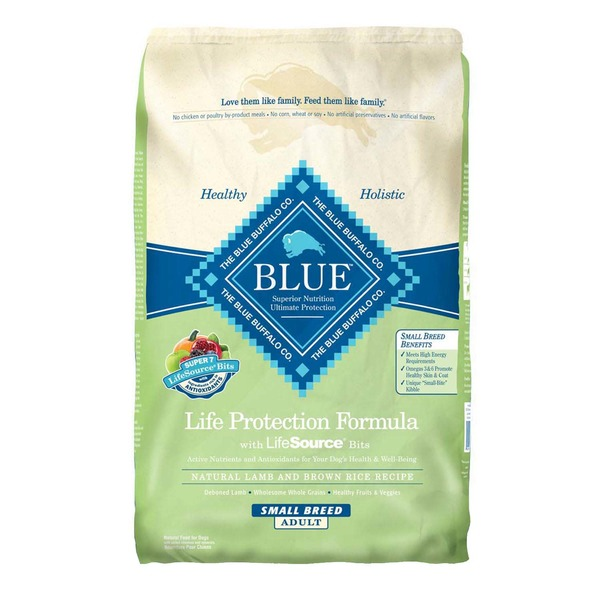 Blue Buffalo Life Protection Formula With LifeSource Bits Natural Lamb and Brown Rice Recipe