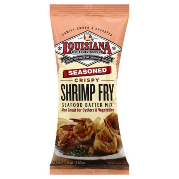 Louisiana Crispy Shrimp Fry Seasoned