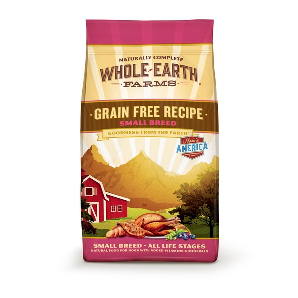 Whole Earth Farms Grain Free Recipe Small Breed Dog Food