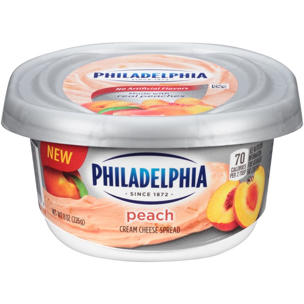 Kraft Philadelphia Peach Cream Cheese Spread
