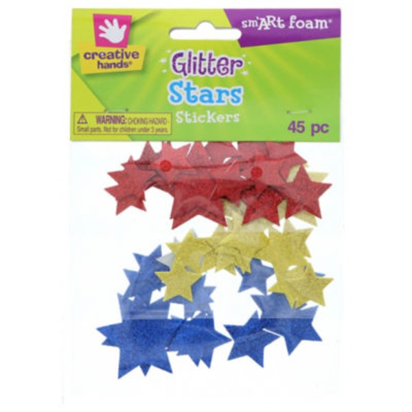 Fibre Craft Creative Hands Glitter Stars