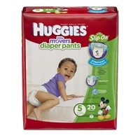 Huggies Supreme Little Movers Slip-On Size 5 Diapers