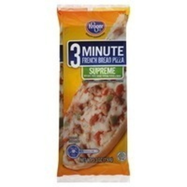 Kroger French Bread Supreme Pizza