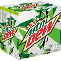 Diet Mountain Dew® Soda, 24 Count, 12 fl. oz. Cans
