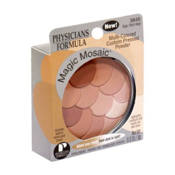 Magic Mosiac® Beige/Warm Beige Multi-Colored Custom Pressed Powder