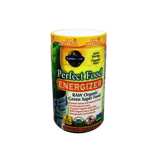 Garden of Life Perfect Food Energizer RAW Organic Green Super Food