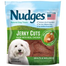 Nudges Health and Wellness Chicken Jerky Dog Treats, 18 oz.