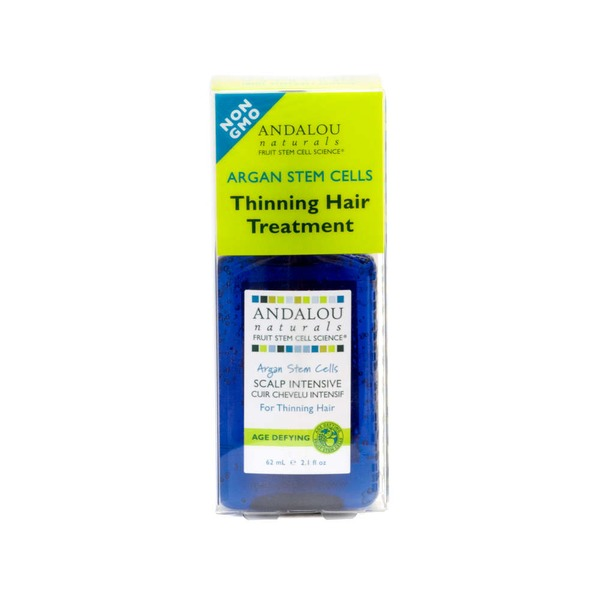 Andalou Naturals Argan Stem Cell Scalp Intensive For Thinning Hair