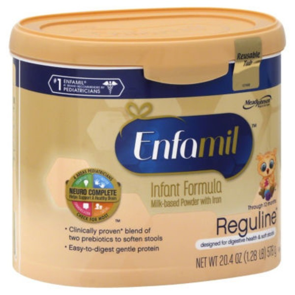Enfamil Reguline For Digestive Health & Soft Stools Milk-Based with Iron Infant Formula Powder