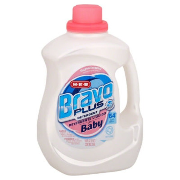 H-E-B Bravo Plus Liquid Detergent For Baby