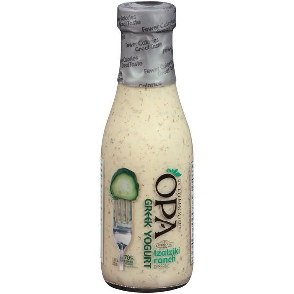 Litehouse OPA Greek Yogurt Tzatziki Dressing