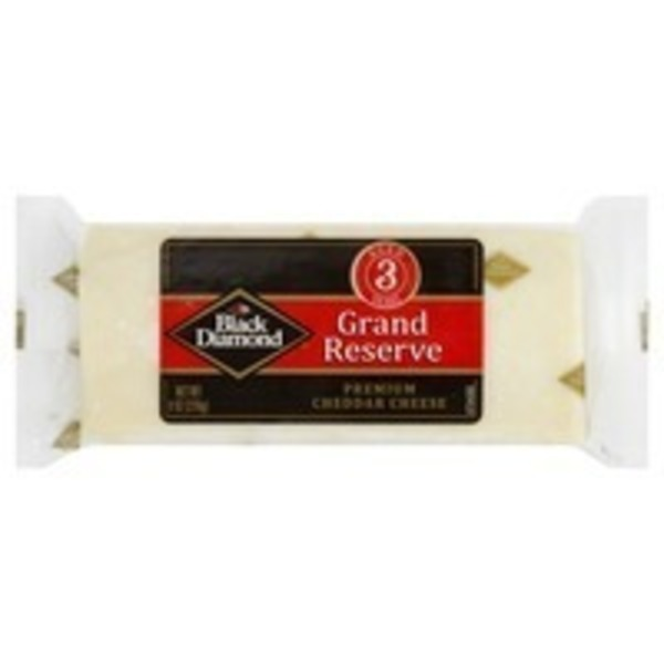 Black Diamond Premium Reserve Natural Sharp Cheddar Cheese