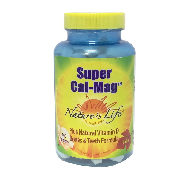 Nature's Life Super Cal Mag 500 mg