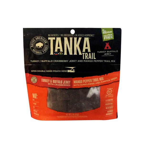 Tanka Hot Mango Pepper Trail Mix