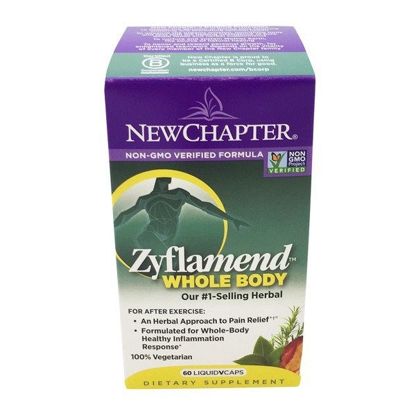 New Chapter Zyflamend Whole Body Liquid Vcaps