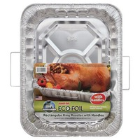 Handi-Foil King Roaster with Handles Foil Pan