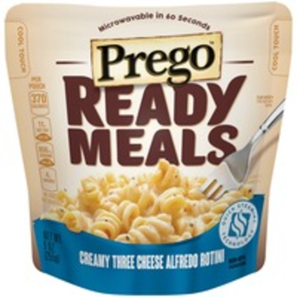 Prego Creamy Three Cheese Alfredo Rotini Ready Meals