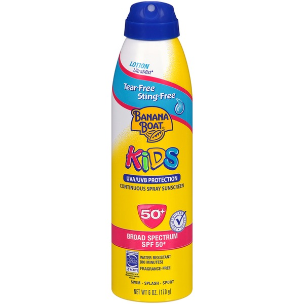 Banana Boat Kids Broad Spectrum 50+ Spray Sunscreen