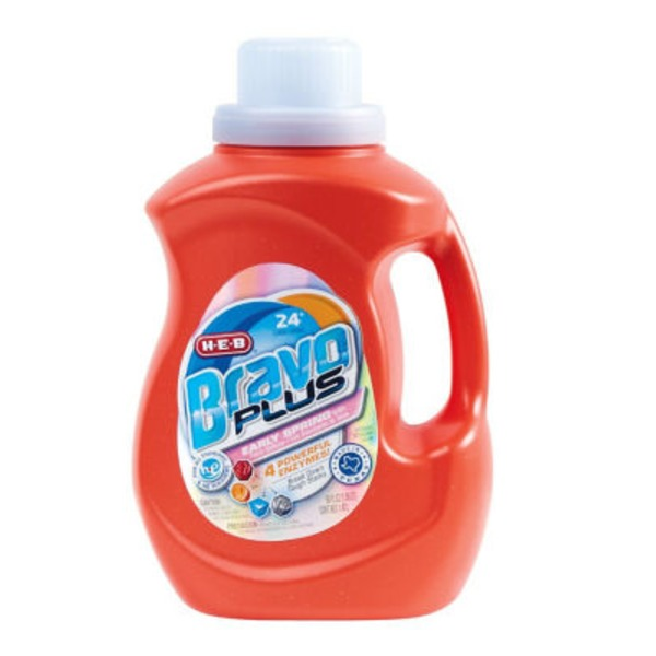 H-E-B Bravo Plus Liquid Laundry Detergent Early Spring 24 Loads