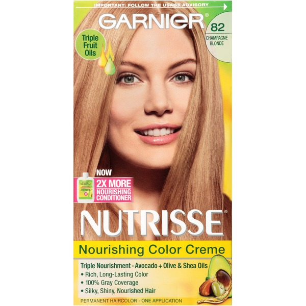 Nutrisse® 82 Champagne Blonde (Champagne Fizz) Nourishing Color Creme