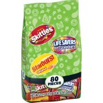 Starburst/Skittles/LifeSavers Candy, Variety Pack,80 Ct, 22.7 Oz