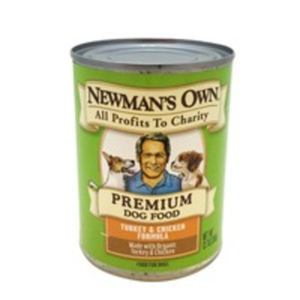 Newman's Own Premium Dog Food Turkey & Chicken Formula