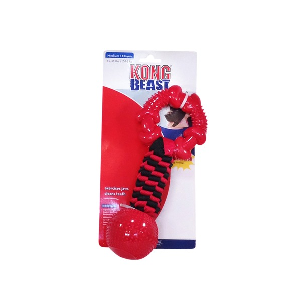 Kong Co. Beast Tugger Ball & Ring