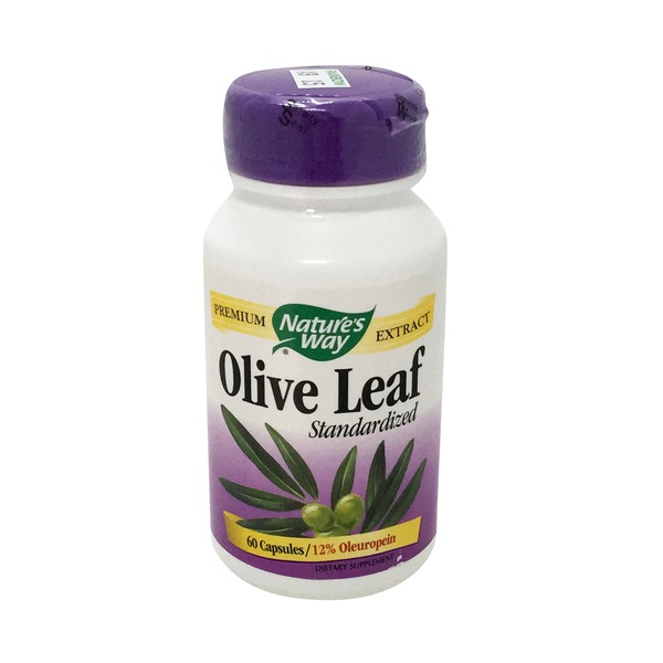 Nature's Way Olive Leaf, Standardized, Capsules