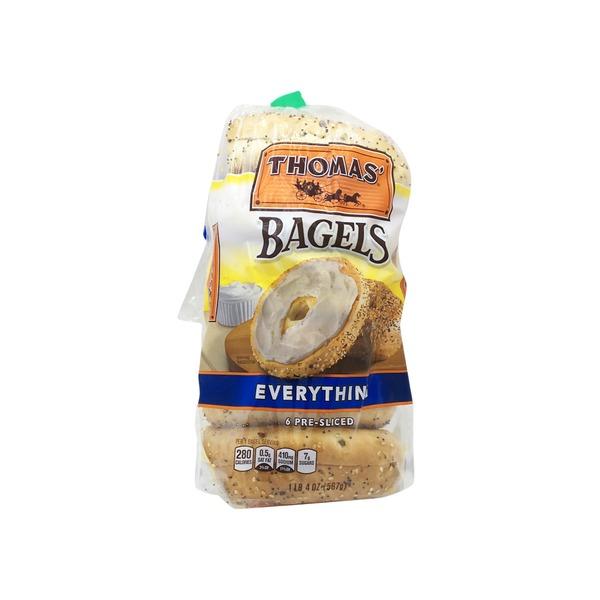 Thomas Presliced Everything Bagels