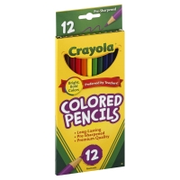 Crayola Colored Pencils Sharpened