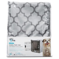 You & Me Shelter Me Lightweight Dog Crate Cover Extra Small For Crates 18