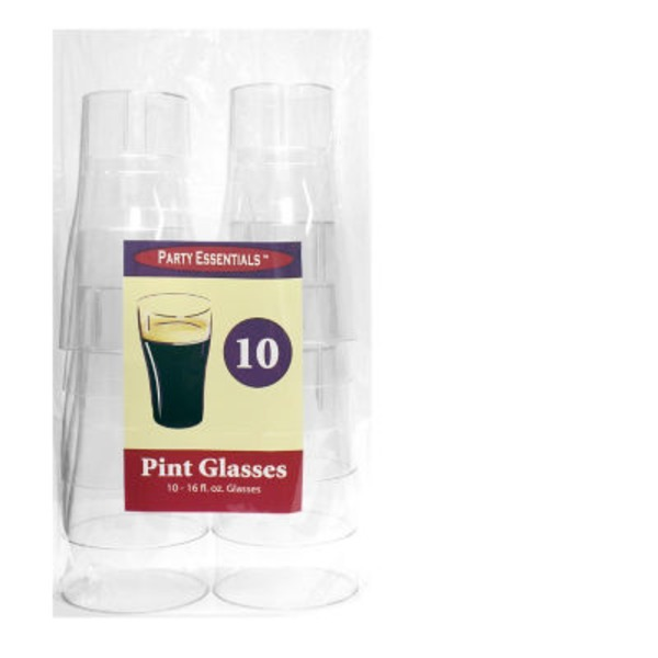 Northwest Party Essentials Pint Glass Clear