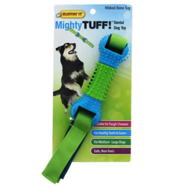 Ruffin' It Mighty Flappy Bone Tug for Dogs