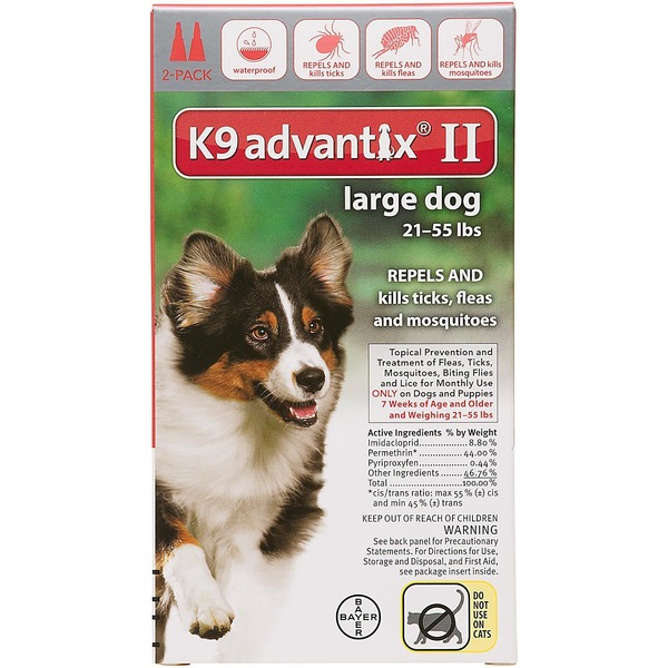 Bayer K9 Advantix II Topical Large Dog Flea & Tick Treatment