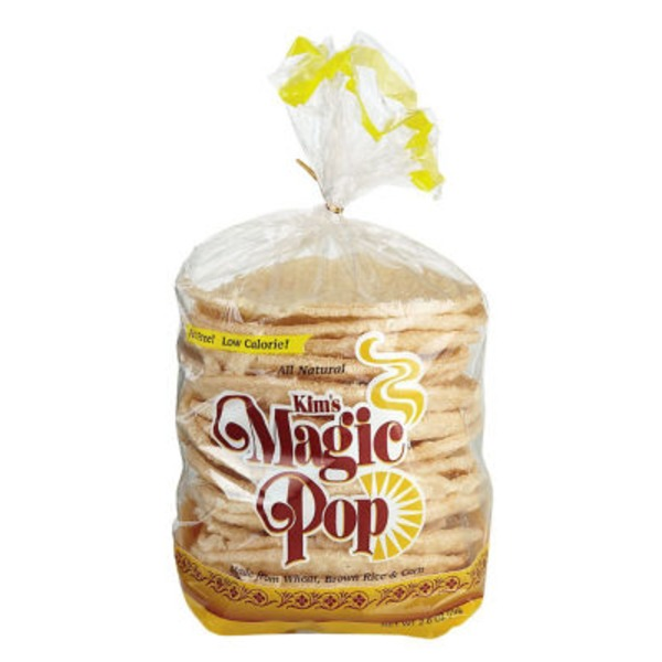 Kim's Magic Pop Original Flavor Freshly Popped Rice Cakes