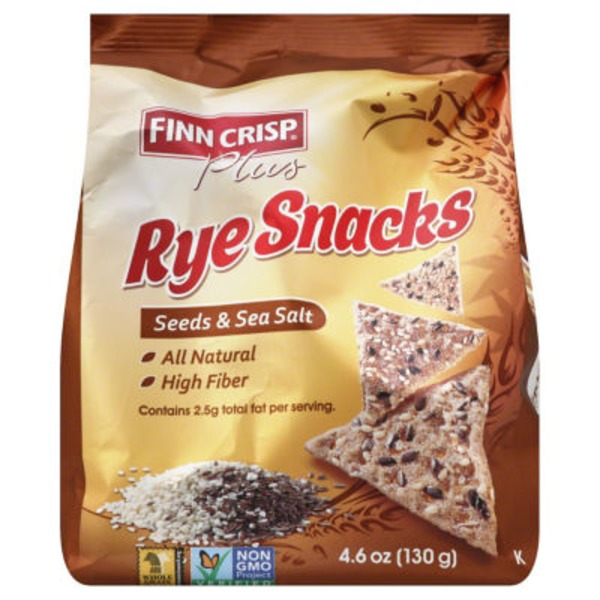 Finn Crisp Seeds & Sea Salt Rye Snacks