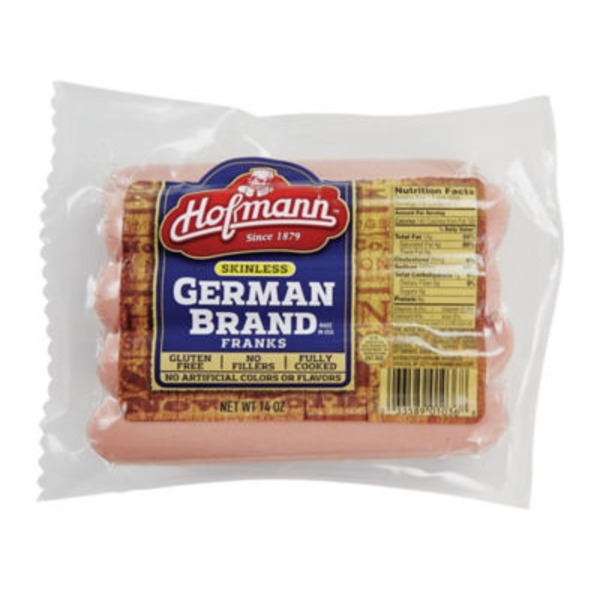 Hofmann German Frank Skinless Sausages