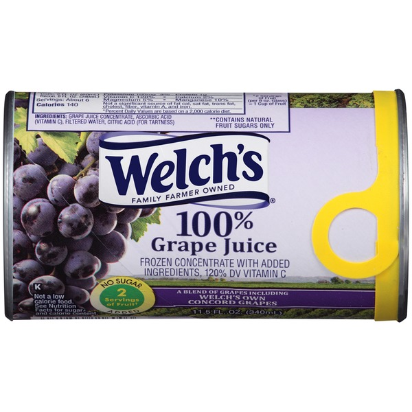 Welch's 100% Grape Juice Concentrate