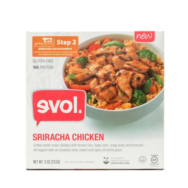 evol. Sriracha Chicken Bowl