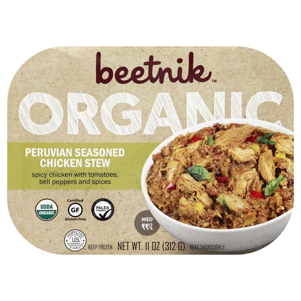 Beetnik Peruvian Seasoned Chicken Stew, Organic, Med
