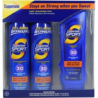 Coppertone SPF 30 Spray & Lotion